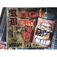 Le Pack Reagan Burger ‎– Vegan Farts + Like A Meal Of Broken Glass