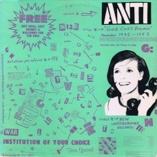 Anti – God Can't Bounce
