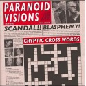 Paranoid Visions – Cryptic Cross Words