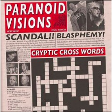 Paranoid Visions ‎– Cryptic Cross Words