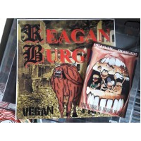Le Pack Reagan Burger – Vegan Farts + Like A Meal Of Broken Glass